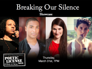 Breaking Our Silence Graphic