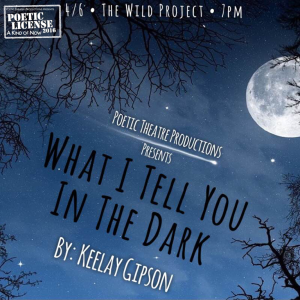 What I Tell You In The Dark Graphic New Version
