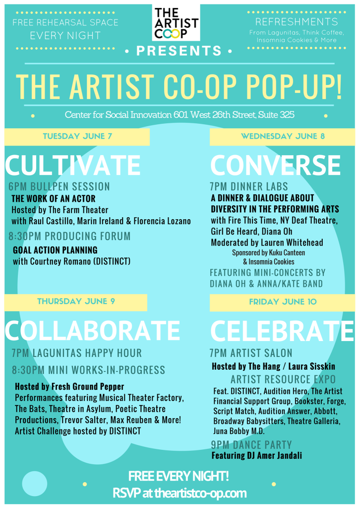 Poetic Theater Productions | The Artist Co-op Pop Up